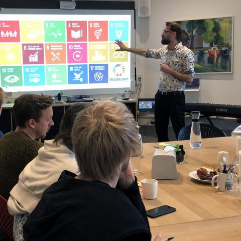 A teaching session during the first Minority Lab in March held in Copenhagen, Denmark.